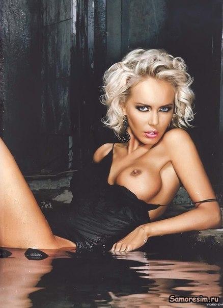 Голая Маша Малиновская в эротических фотосессиях