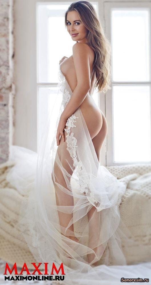 Голая Ольга Бузова без цензуры в Playboy Maxim и на